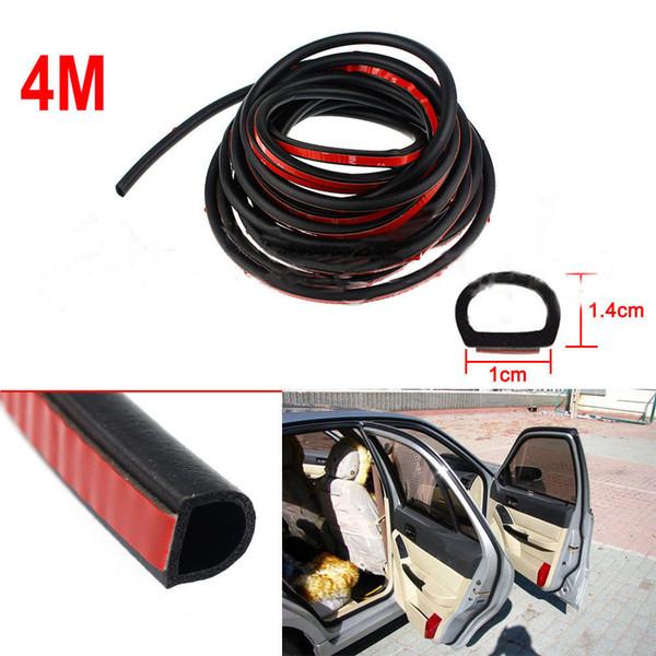 400x0.14mm D Форма Авто двери автомобиля резиновые уплотнения Погода Hollow Полоски WEATHERSTRIP