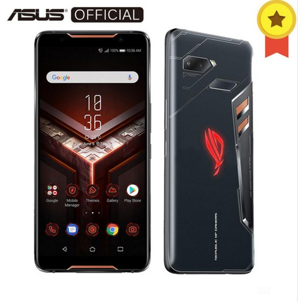 Original 2018 ASUS ROG-Telefon, 8 GB RAM, 256 GB ROM, Spiel-Smartphone, Snapdragon 845, 2,96 GHz Adreno 630, 6-Zoll-FHD + AMOLED, QC 4,0 + 30 W, OTG
