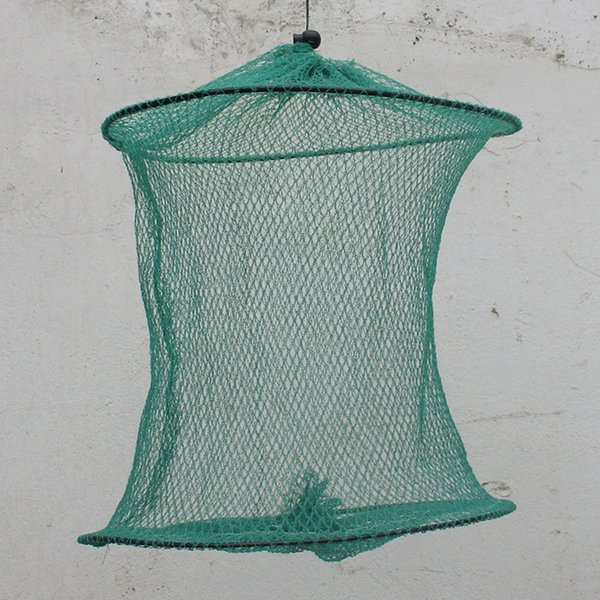 Hot Fishing Net For Crab Fish Crawdad Shrimp Minnow Fishing Bait Trap Cast Dip Foldable Net Cage Tool High Quality