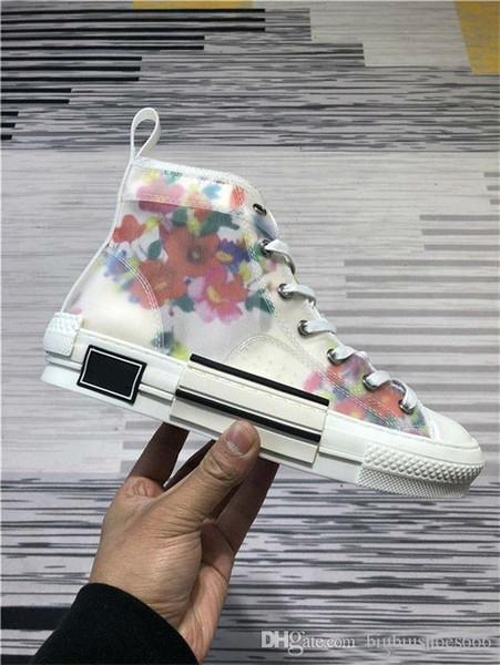 снижает технический TanSvas Марка B23 тапки мужских Конструкторов Sneaker женщин тренер обувь New Hot мода обувь