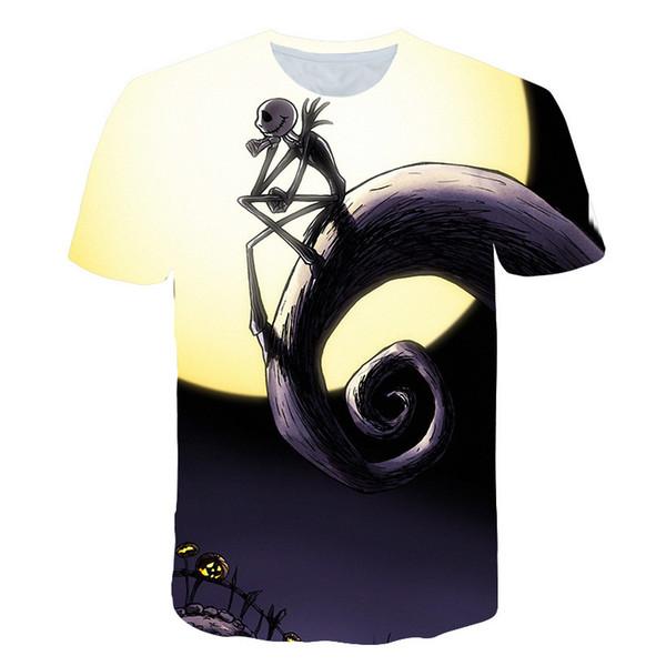 2019 neue Männer T Shirts 3d T-shirt Kurzarm Hip Hop Mode T-shirt Homme Slim Fit Halloween Cosplay T-shirt