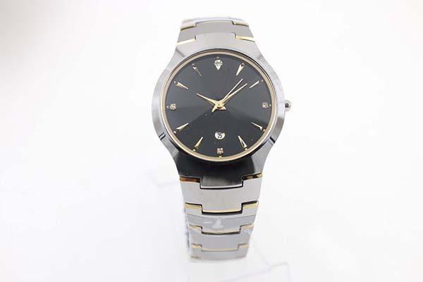 2019 Luxury Classic cuarzo fecha Relojes de plata inoxidable Dezel Dial Negro mira el nuevo Concept Fashion Relojes y Relojes de los hombres