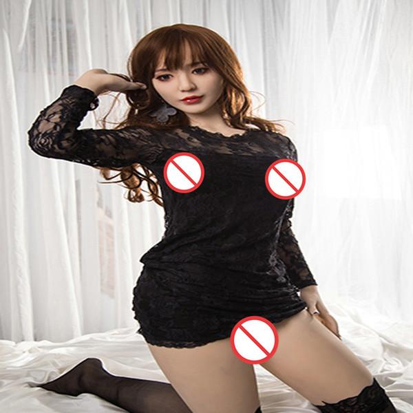 poupée vrai sexe adulte pour les hommes gonflables poupée de silicone semi-solide poupées japonaises en silicone réalistes pleine taille Love Doll