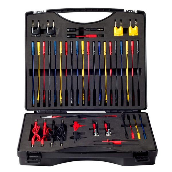 Il corredo del cavo del tester del circuito automobilistico di multi funzione contiene 92 pezzi di collaudi essenziali del test tester elettrici del collaudo del cavo diagnostici
