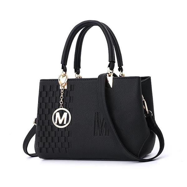 2019 Estate nuova borsa a tracolla di colore solido selvaggio signore casuale borsa a tracolla quadrata semplice diagonale femminile borse donna borsa J190426