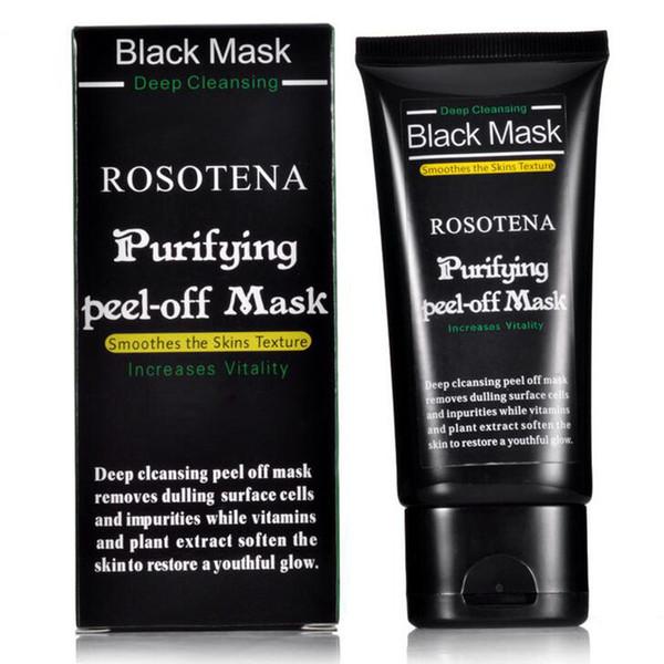 Máscara de limpieza profunda negra Aspiradores de espinillas removedoras de colágeno mascarilla facial 50 ml SHILLS Limpieza purificante exfoliante mascarilla facial negra