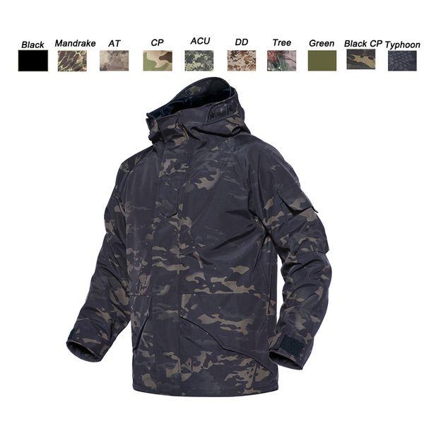 top popular Outdoor Sports Hunting Shooting Tactical Camo Coat Combat Clothing Camouflage Windbreaker G8 Winter Outdoor Jacket P05-212 2021
