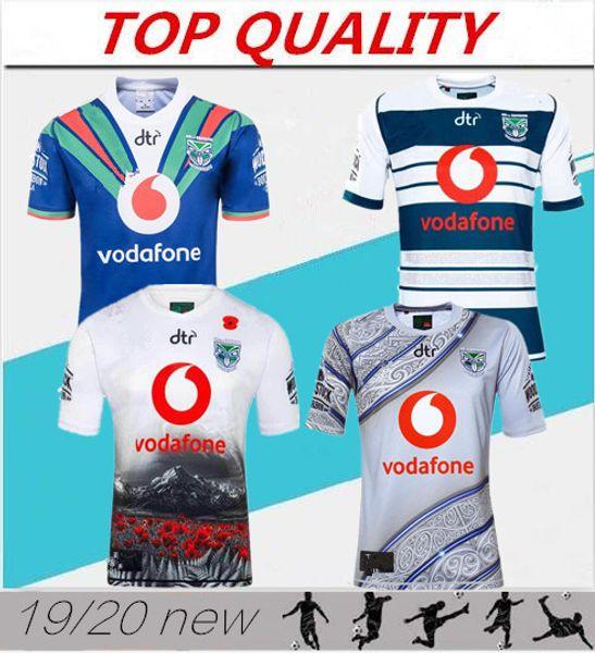 2019 2020 Auckland Warriors maillots de rugby 18 19 20 top qualité 9S chemises de rugby pour hommes NZ Warriors chemises livraison gratuite