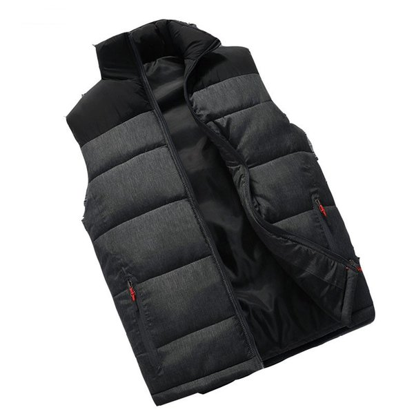 Vest Waistcoat Winter Sleeveless Jacket Men Warm Down Vest Jacket For Men Winter Sleeveless Jackets Coat Plus Size 4xl