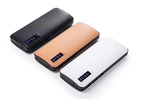 1pcs Universal powerbank 10000mAh Mobile Power Bank Portable Charger three USB for Tablet PC iPhone Samsung HTC