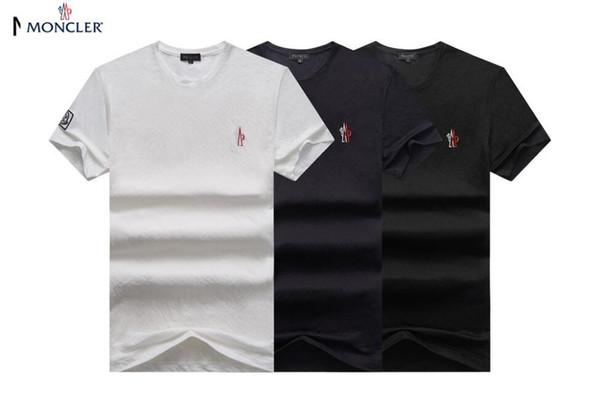 d4aa702998 Summer short-sleeved t shirt men's Korean version of men's half-sleeved  bottom shirt