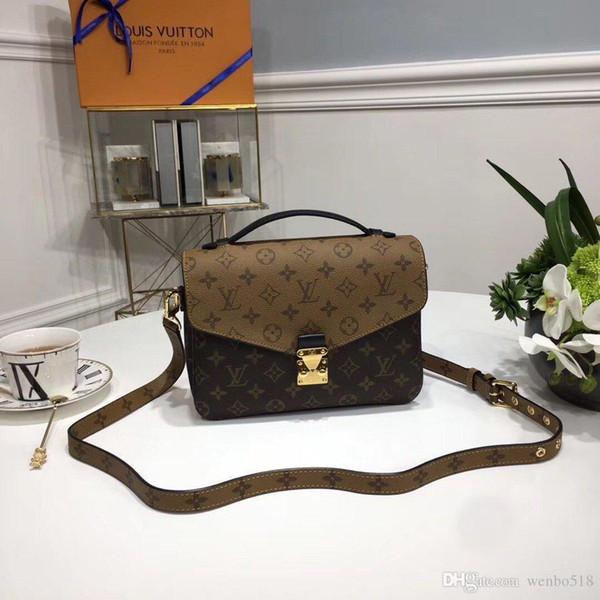 delle donne di cuoio borse borse crossbody M40780 3769 il trasporto libero raccomandato eccellente di alta qualità genuine borsa pochette Metis spalla