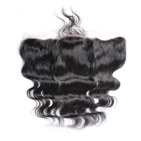Wholesale 100% real human hair 10A Best Quality virgin hair 13x4 Body Wave Frontals No Tangle No Shedding No Mix Without Chemical Processed