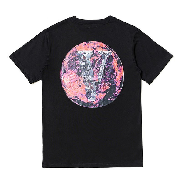 New POP UP Earth Printed T-shirt Hip Hop Fashion Men Women Tee Simple Street Skateboard Breathable Casual Short Sleeves Tee HFYMTX523