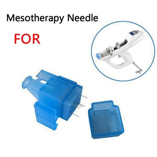 Mesoterapia Aguja Meso Arma Aguja Eliminación de arrugas Cuidado de la piel 5 agujas 9 Agujas Meso Inyector Uso para Bella Máquina vital
