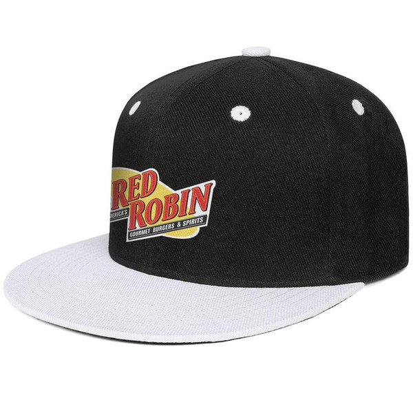 Kırmızı Robin logosu sembol erkek Düz boyunca beyzbol şapkası Yüksek Kalite ayarlanabilir kadınlar yaz kap ucuz trucker kap örgü basketbol şapkalar