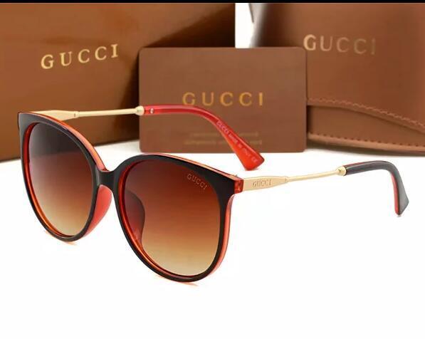 2020 Männer Frauen klassischer Pilot Sonnenbrille Markendesigner Gold schwarzer Kristall grün Sonnenbrille Glaslinse 3 Größe in original 2200