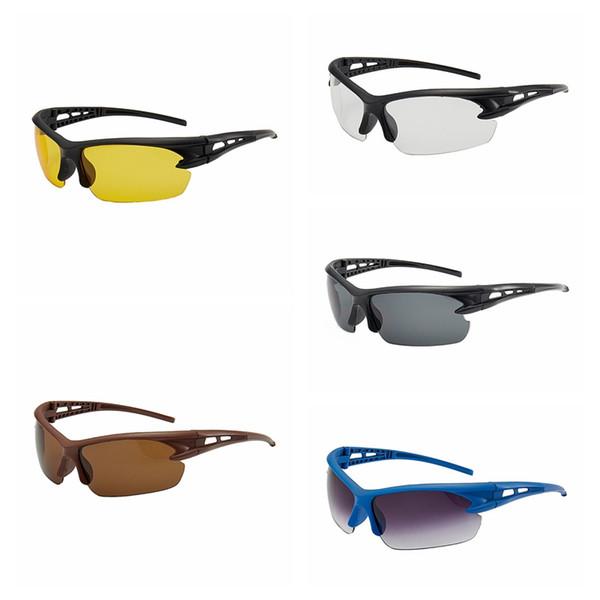 Motosiklet Güvenlik Gözlükleri Açık Bisiklet Sürme Gözlük Göz Koruması Araba Motosiklet Rüzgar Geçirmez Böcek geçirmez Spor Güneş Gözlüğü HHA214