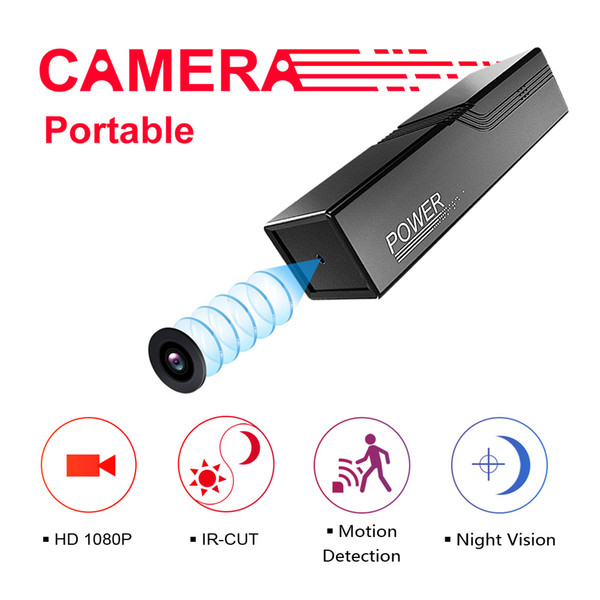 IR-CUT Mini Camera Portable HD 1080P Outdoors Camera Infrared Night Cam Motion Detection