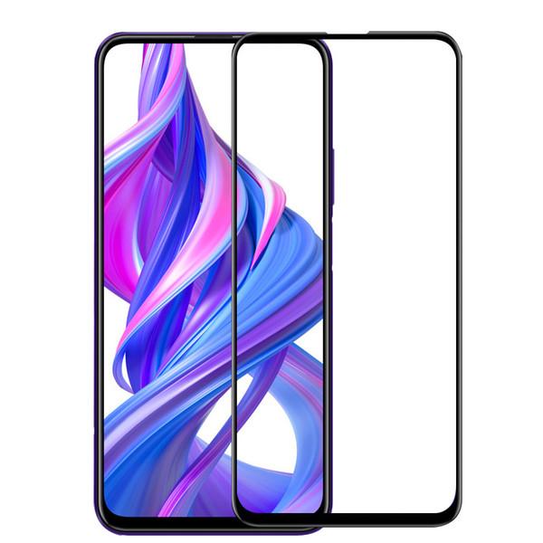 Para Huawei Honor 9X ProTempered Glass Protector de pantalla Cubierta completa Protección de borde HD Envío de gota gratis