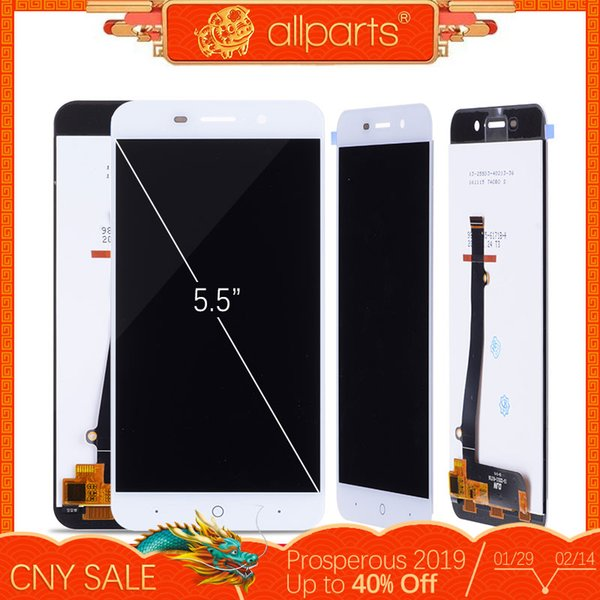 Pantalla LCD para ZTE Blade A602 Pantalla LCD táctil sin digitalizador de cuadros para ZTE A602 Piezas de repuesto de ensamblaje de pantalla