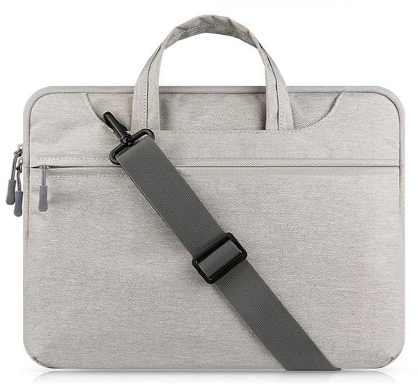 Laptop Bag Sleeve Case for MacBook Air 13 inch 11 Pro Retina 12 13 15 handle shoulder strap notebook bag 14 15.6'' Laptop