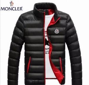 Wholesale- 2019 New Mens White goose Down Parkas Thin Style Soft Man Winter Warm Coats Stand Collar Casual Comfortable Winter Jackets