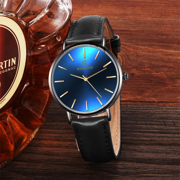 2018 мужские часы 6.5 мм ультратонкие модные спортивные часы простые деловые мужские кварцевые часы римские мужские мужские часы relojes