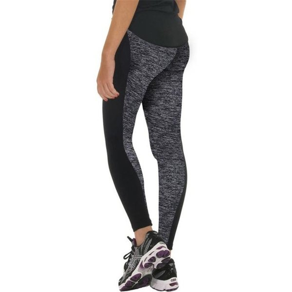 1 UNID alta calidad pantalones de montar mujeres pantalones deportivos atlético gimnasio entrenamiento Fitness Yoga Leggings pantalones al por mayor # 908167