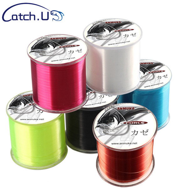 Fishing Lines Catch.U 500M Top Grade Japanese 0.18-0.48mm Fluorocarbon Coating Fishing Line Monofilament Carp Wire Leader Line