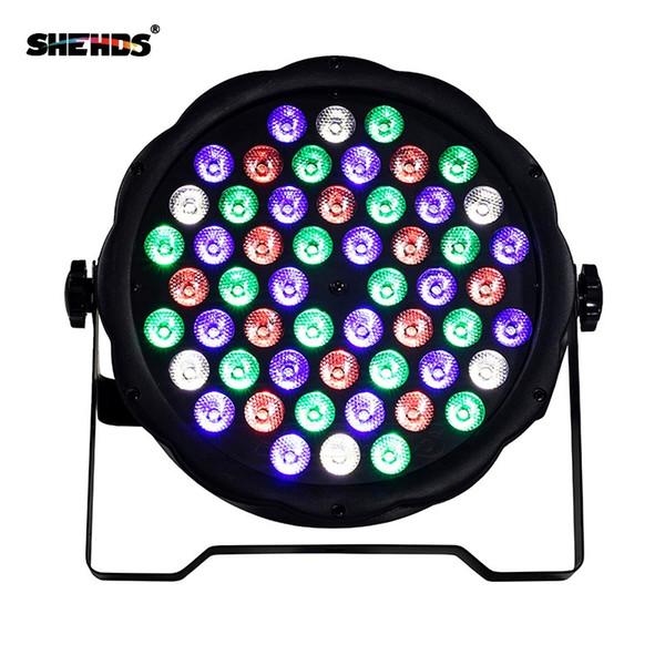 2PCS LED Par 54X3W RGB DMX Stage Lights Business Lights LED Wash Light RGB Color Mixing 54X3W