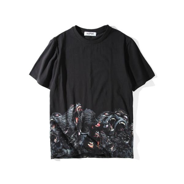 Lüks Erkek Tasarımcı T Shirt Erkek Giyim 3D Orangutanlar Yaz T Gömlek Hip Hop Erkek Kadın Kısa Kollu Boyutu S-XXL