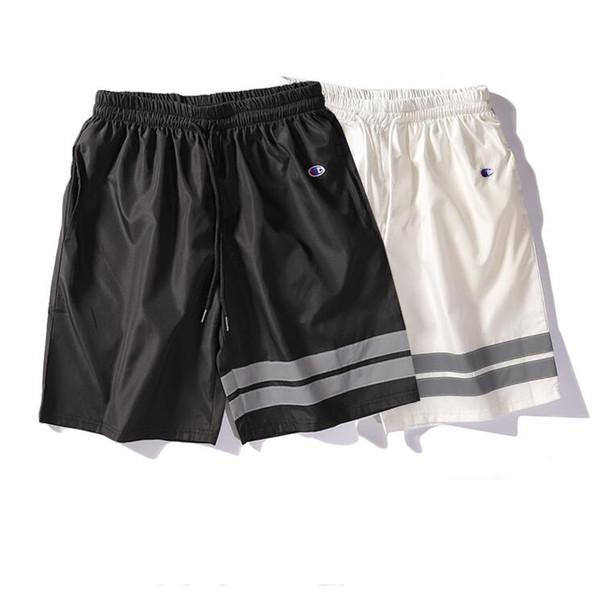 Shorts d'été pour hommes célèbre marque shorts occasionnels cordon de serrage hommes sous-vêtements de luxe pantalons courts de vacances shorts de plage portent 2 couleur
