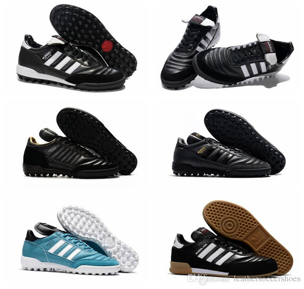 2019 originali mens tacchetti da calcio copa MUNDIAL GOAL scarpe Indoor Soccer scarpe da calcio Mundial squadra Astro Craft Scarpe Calcio