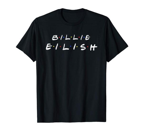 Billie Lover Eilish Music T-Shirt fear cosplay liverpoott tshirt