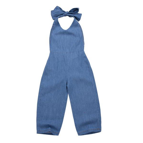 Children Wear Summer Toddler Denim Overalls Jeans For Kids Clothes Fashion Baby Girls Jumpsuits Rompers