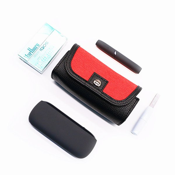 IQOS Portable Storage Case iQOS 4 Generation cloth waterproof Leather Case Scratch Protective Carrying Cover for iQOS Crocodile Pattern