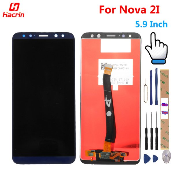huawei Nova 2I LCD Touch Screen Test Buona Digitizer Assembly Panel di ricambio per Huawei Nova 2i RNE-L22