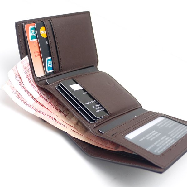 Luxury MB wallet Hot Leather Men Wallet Short wallets MT purse card holder wallet High-end gift box package as gift