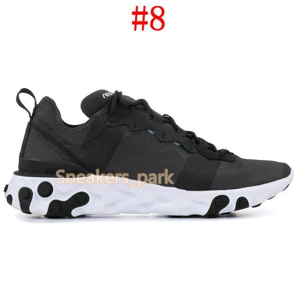 # 8 Elemento 55 Preto Branco