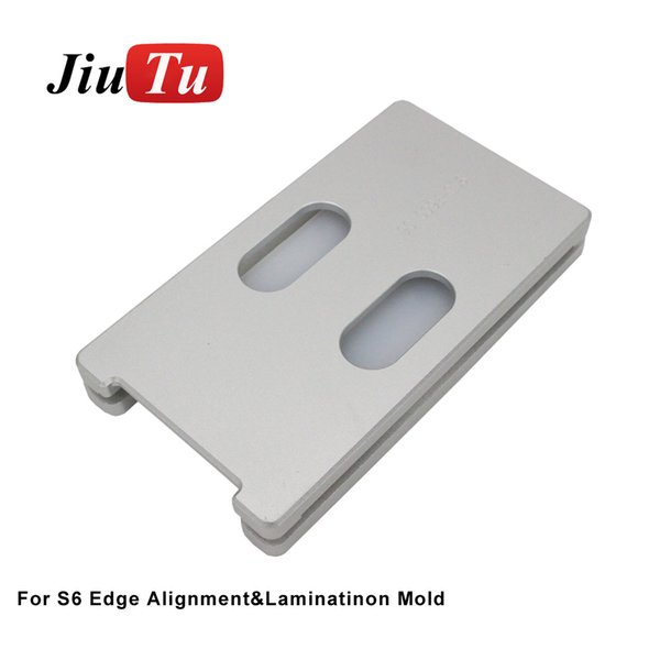 Jiutu Laminating Machine Mold For Samsung S6edge s7edge S8 Plus S9 Unbent Flex Mold LCD OCA Glass Laminating Repair Tool