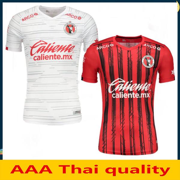 2019 2020 Xolos de Tijuana CHARLY Soccer Jersey AP 19 20 México Club LIGA MX Casa Fora Shirts Third Vermelho Branco Camisa de Futebol Futebol