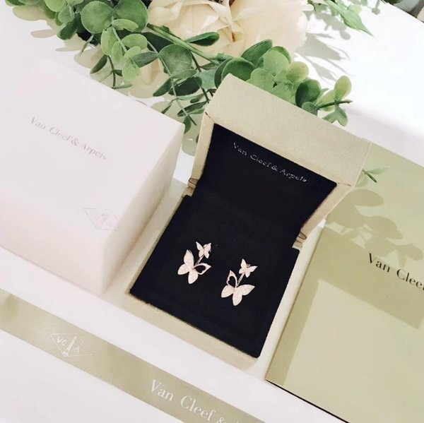 Designer Real Modeschmuck handgefertigt Leopard Leder Ohrringe für Frauen Ohr Großhandel Silber