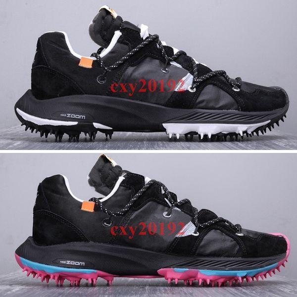 Compre Nueva Llegada 2019 OFF WHITE X Nike Zoom Terra Kiger 5 Atleta Zapatillas De Deporte En Curso Hombres Zapatillas Deportivas 40 45 A $111.68 Del