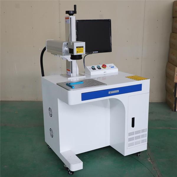 best selling rotary metal steel last seal porcelain pipe flying 30w 50wa100w 20w raycus fiber laser marking machine