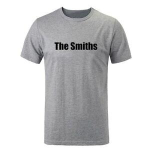 The Smiths Punk RoO-Neck Band Men Boy T Shirt Tops Cotton Casual Funny Gift Tee
