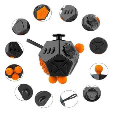 Fidget Spinners Irritability anxiety relief pressure reduction magic square focus Fidget cube second generation