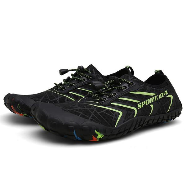 MUQGEW mixed colors lace-up Water Shoes classics flats Quick Dry Barefoot Socks Swim Beach Walking flats shoes chaussures femme