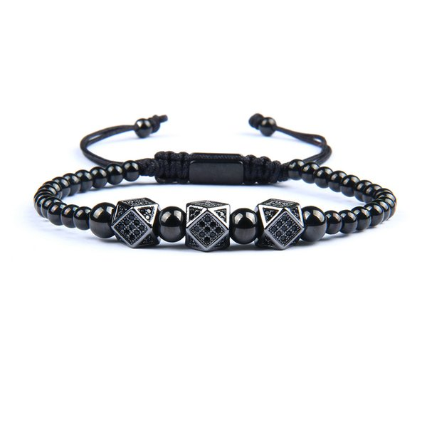 20 Design New Luxury Crown Bracelet Men And Women Macrame Stainless Steel Bracelets & Bangles Adjustable Hip Hop Gold Accessories Gift
