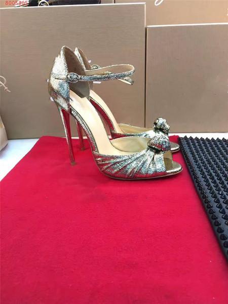 2019 Zarif Papyon Kadınlar Seksi Sivri Burun Yüksek Topuklu Pompalar Glitter Elbise Ayakkabı Stiletto Topuk Parti Ayakkabı Boyutu 34-41